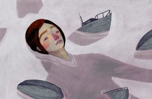 gözyaşlarında batan tekneler