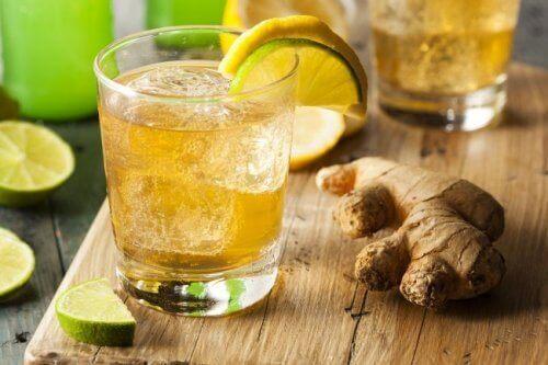 zencefilli limonata