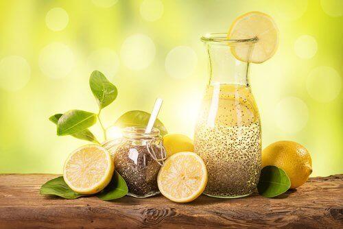 Limon, Zencefil ve Chia Tohumları ile Kilo Vermek