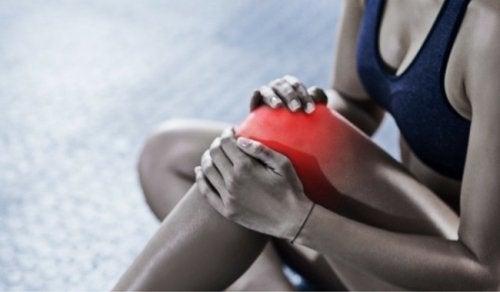 eklem diz sporcu kadın