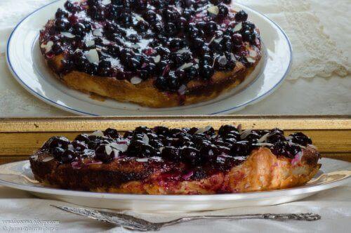 yaban mersinli cheesecake