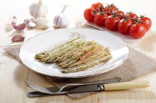 pişmiş sebzeler