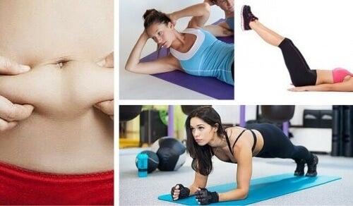 Karın Yağlarını Yakmak İçin 7 Kolay Egzersiz