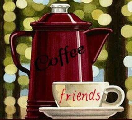kahve eşliğinde arkadaşlarla muhabbet