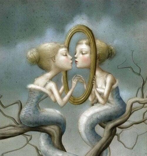 deniz kızı ve ayna