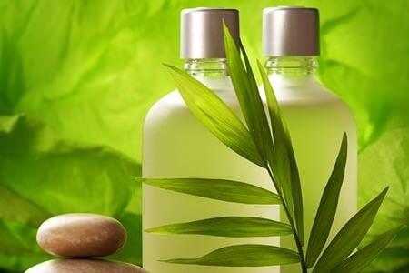 kimyasal madde içermeyen şampuan
