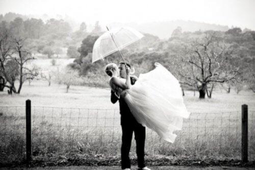 evlenmiş çift