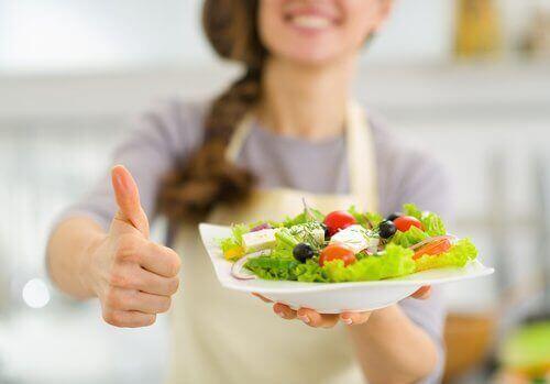 salata ile sağlıklı beslenme
