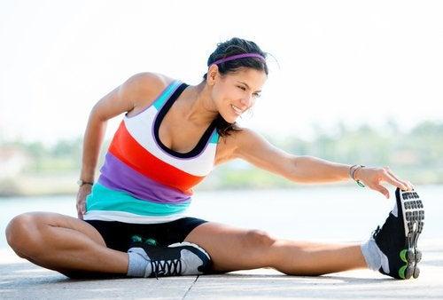 bacak krampları için esneme hareketleri