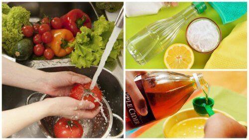 Meyve ve Sebzeleri Dezenfekte Etmek İçin 7 Tavsiye