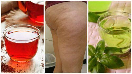 Bu 6 Bitkisel Çayla Selülitle Savaşın