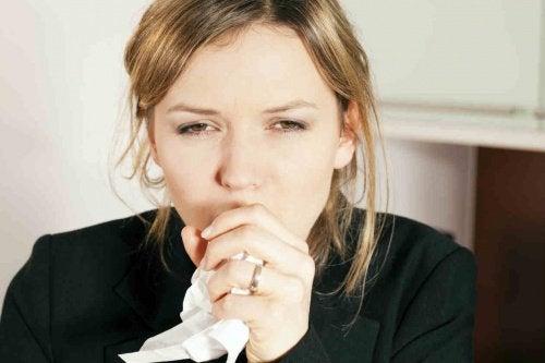 grip ve öksürük