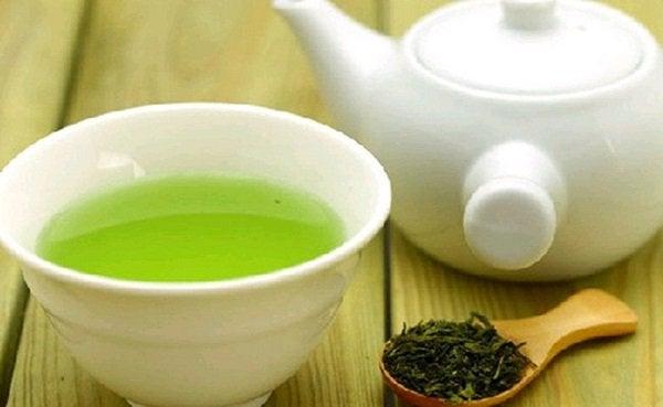 yeşil çay çaydanlık