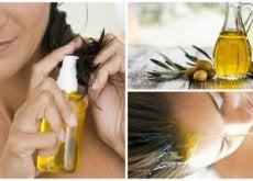 zeytinyağının saç bakımında kullanımı