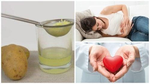 Çiğ Patates Suyunun Vücudunuza 8 İnanılmaz Yararı