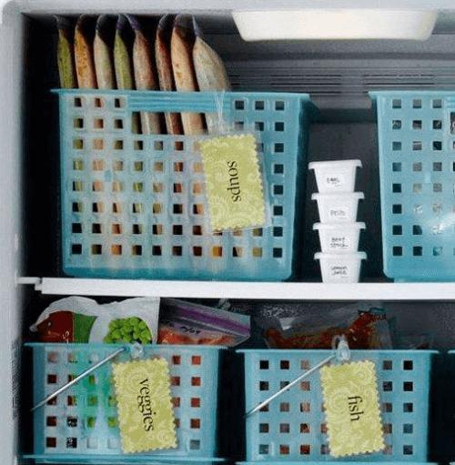 buzdolabını düzenlemek