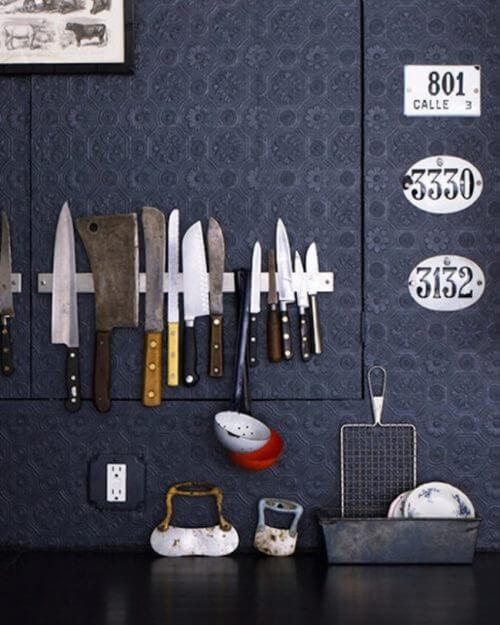 bıçak için manyetik çubuk