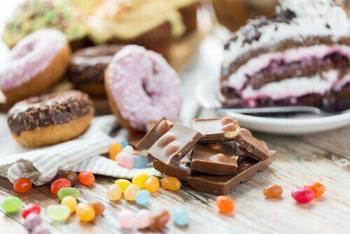 donut, kek, cikolata, sekerleme