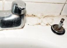 kirli çeşmeyi temizlemek