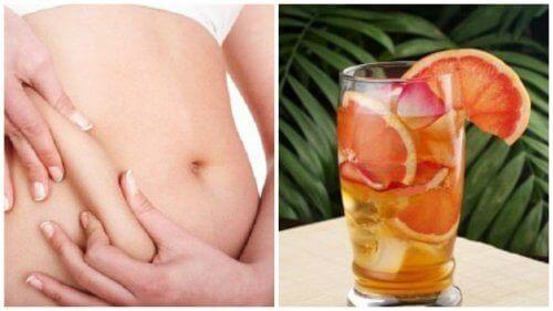 Metabolizmayı Hızlandıran Yeşil Çay, Greyfurt ve Nane İçeceği