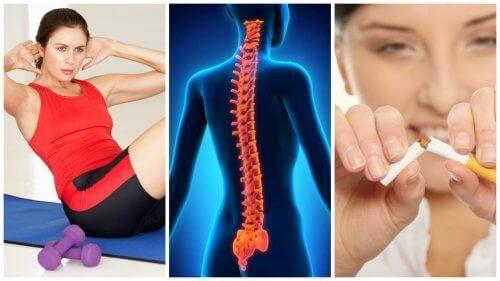 Omurganızı Güçlü Tutmak İçin 8 İpucu