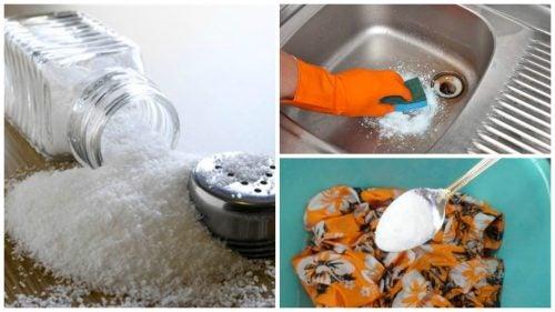 Tuz Kullanarak 7 Çevre Dostu Temizlik İpucu