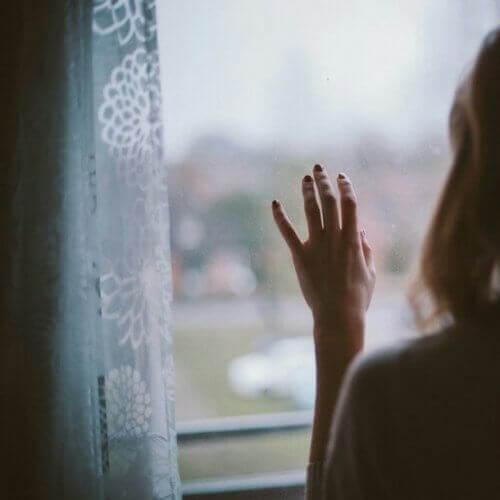 camdan dışarıyı izlemek