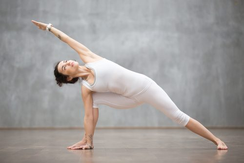 yoga pozu