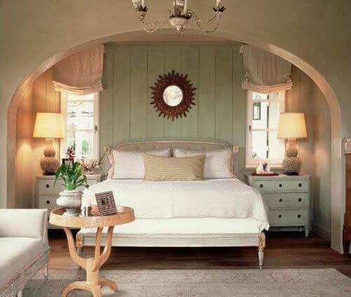 temiz yatak odası