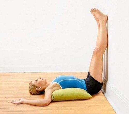 bacak hareketi duvar