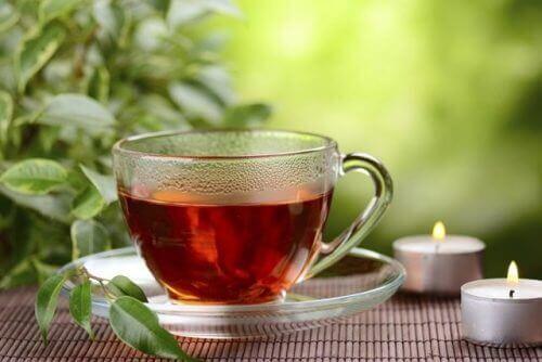 kilo vermek için kırmızı çay