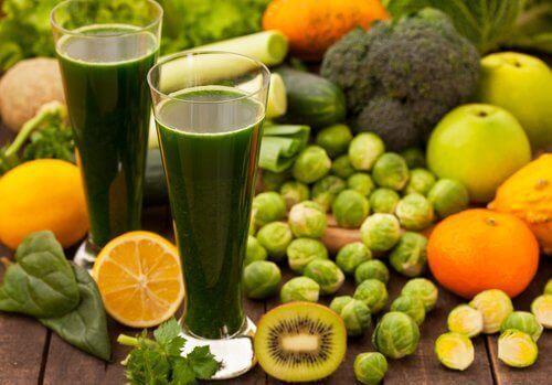 yeşil sebzelerle detoks diyeti