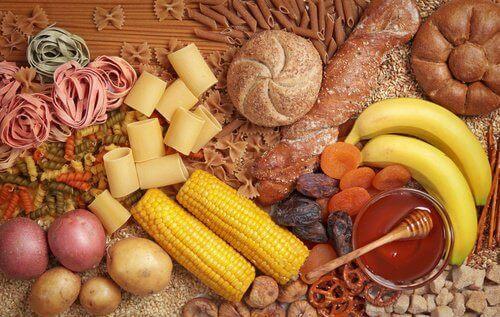 karbonhidrat kaynağı besinler
