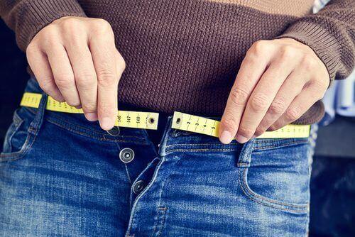 pantolona sığamamak