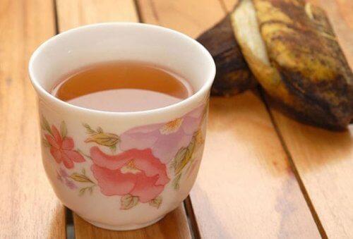 muz kabuğu çayı