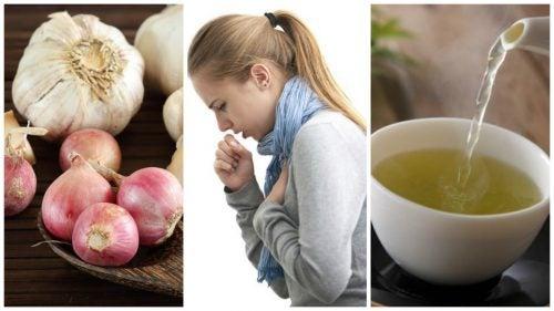Sarımsak ve Soğan İçeceği ile Öksürük Tedavisi