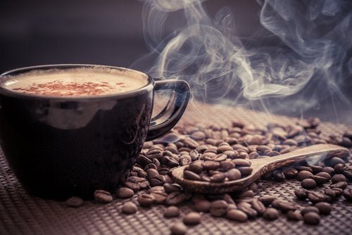 sıcacık bir kahve