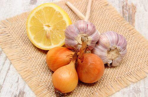 sarımsak soğan