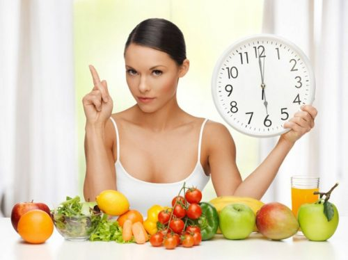 saate bağlı yemek seçimi