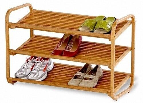 ayakkabı rafları