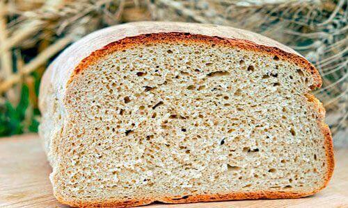 kesilmiş somun ekmek