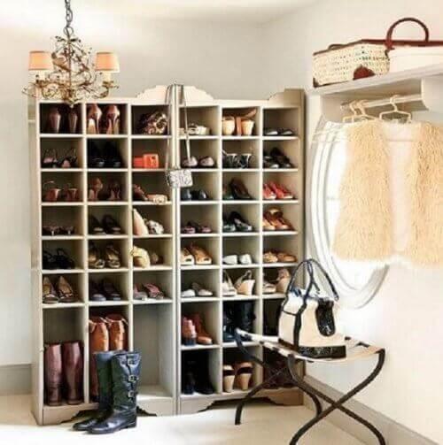 Ayakkabıları Düzene Sokmak için 20 Fikir