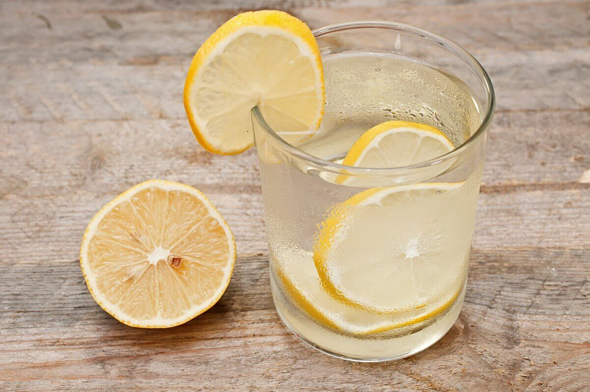 dilim limon, su