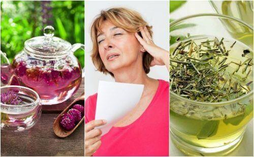 Menopozda Sıcak Basması İçin 6 Doğal Tedavi