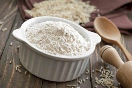 pirinç unu tüketmek