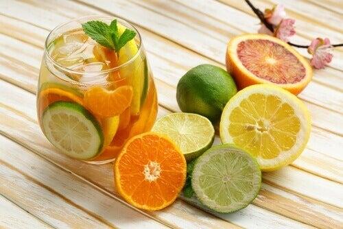 turunçgil meyveleri