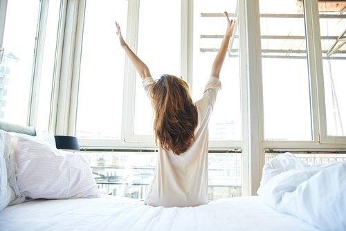 mutlu uyanmak için chia