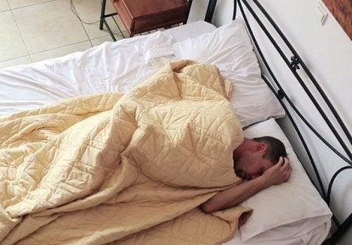 diyabetin sonuçları: uykusuzluk