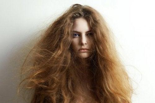 Kuru Saçların Tedavisi İçin 5 Doğal Bileşen