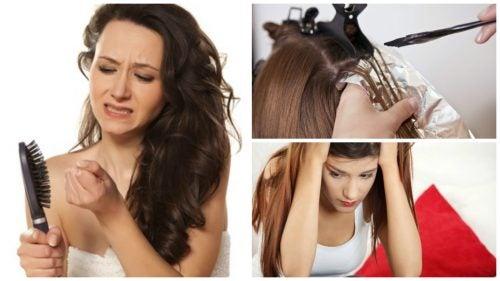 Aşırı Saç Dökülmesi: 7 Muhtemel Sebep